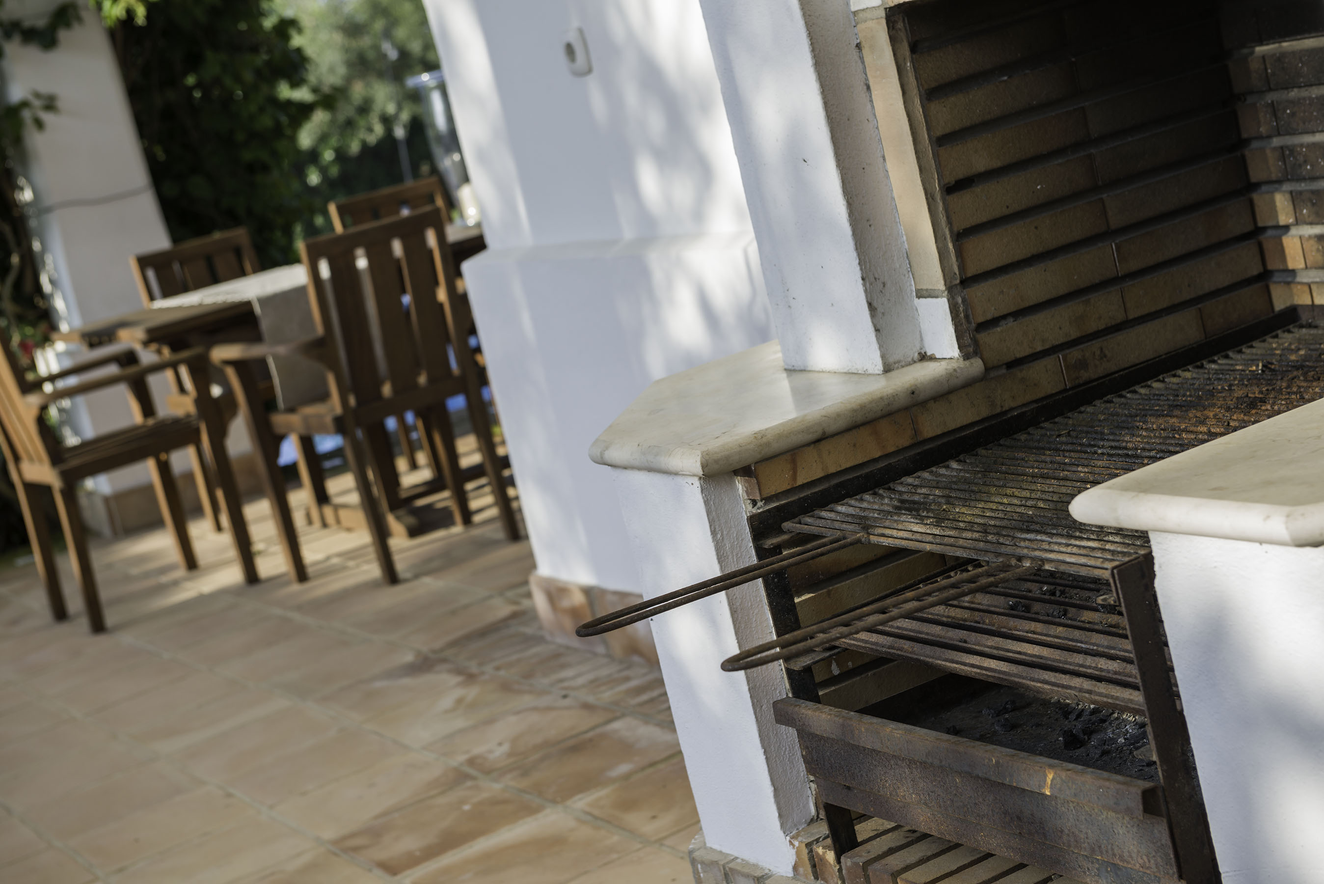 Villa Amapola BBQ and terrace
