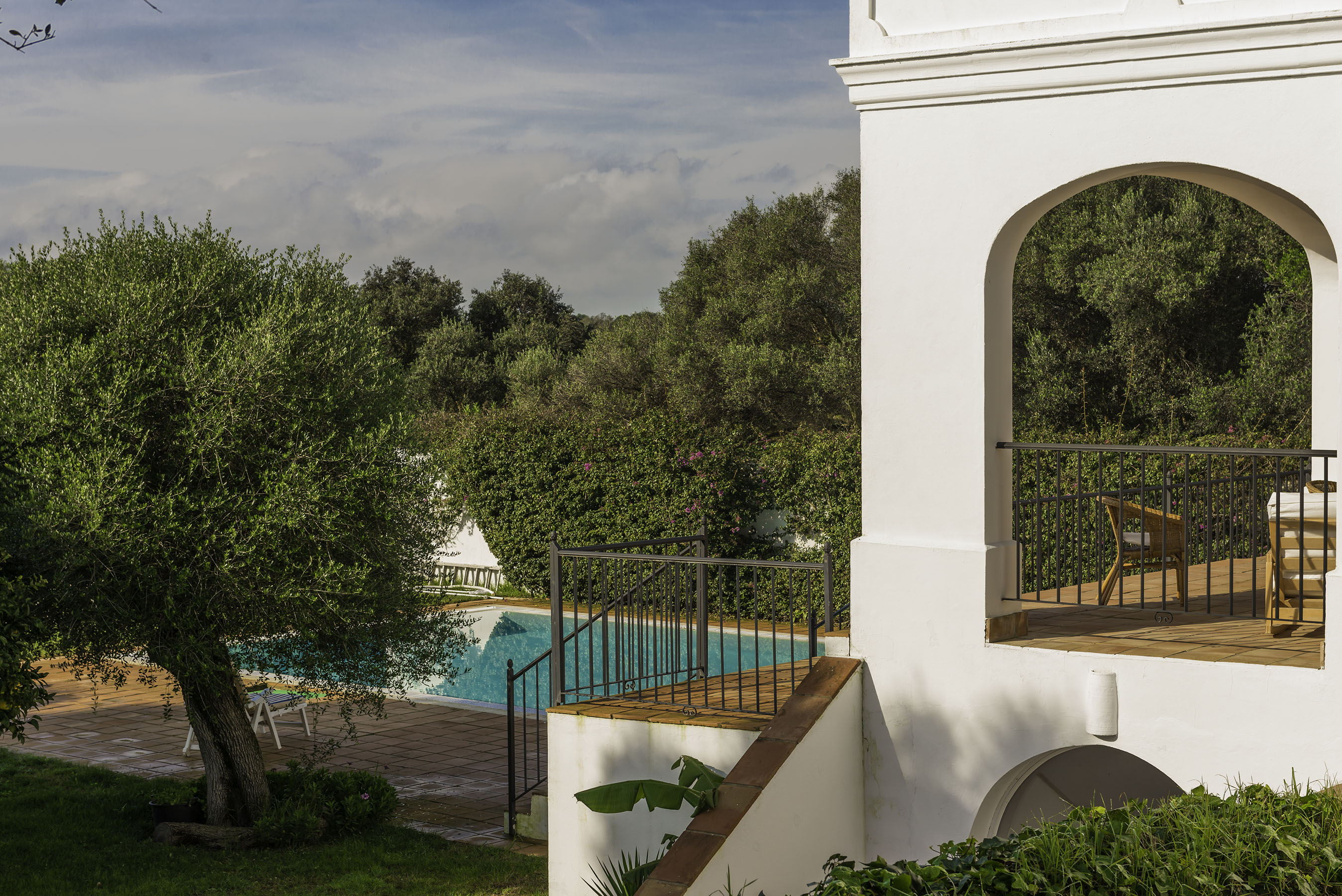 Villa Capuchina pool and terrace