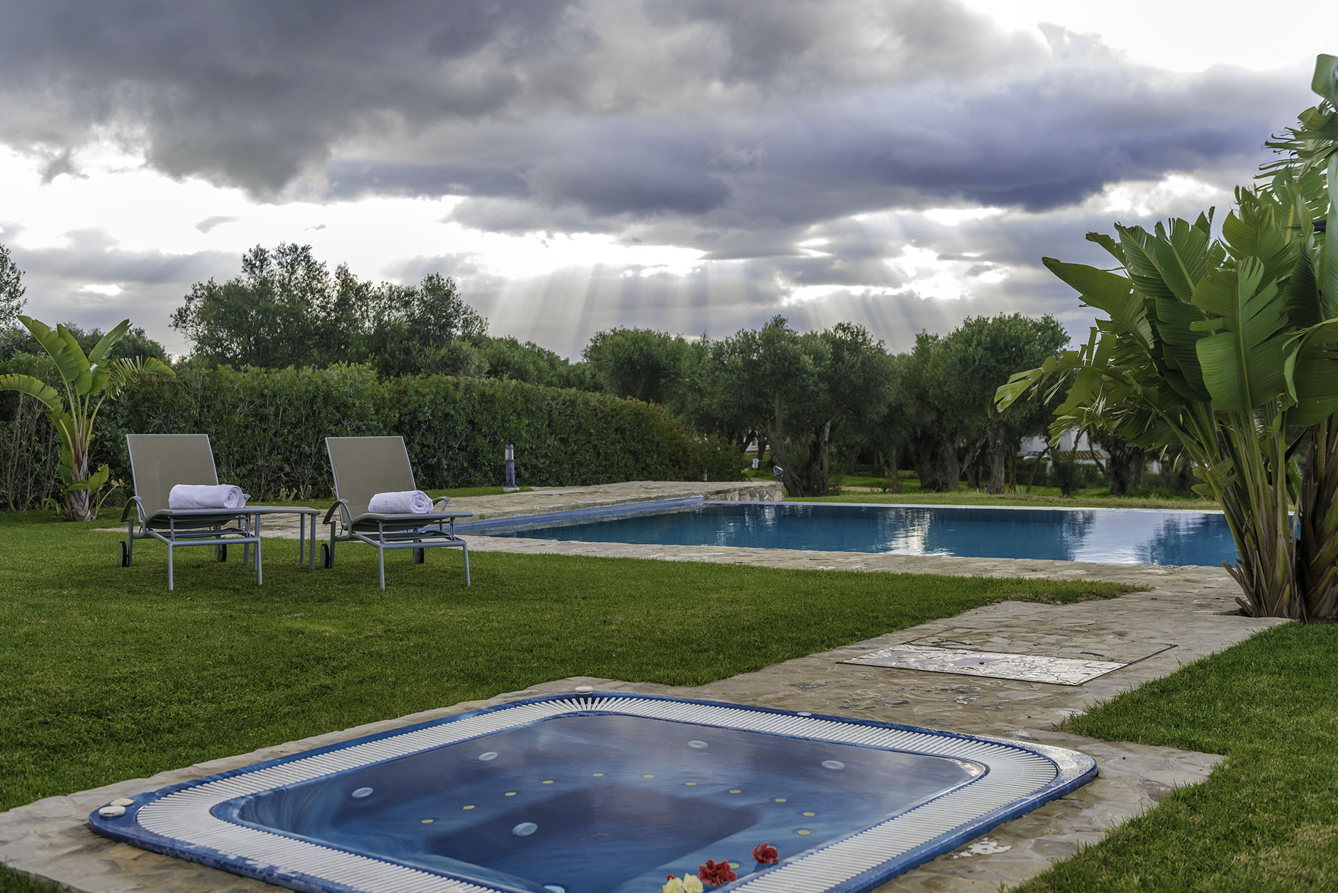 Villa Violeta whirpool and pool