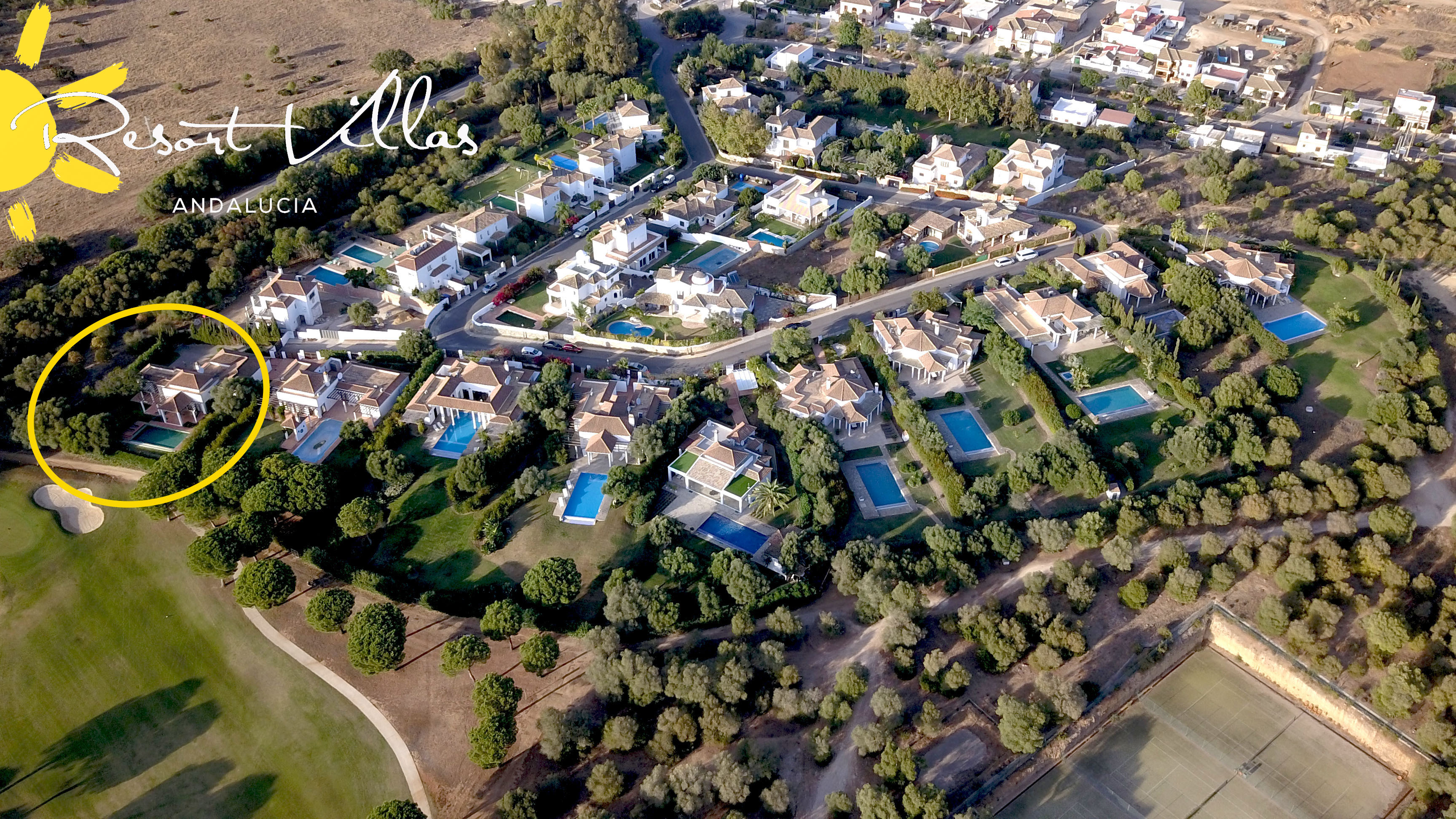 Villa Alondras 17 Situated on the golf course, in Urb Las Alondras